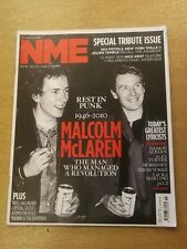NME APRIL 17 2010 MALCOLM MACLAREN NOEL GALLAGHER SEX PISTOLS JAY-Z MORRISEY