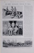 1897 BOER WAR ARMY SIGNALLING SCHOOL KASAULI INDIA HELIOGRAPH MAJ.T.O'LEARY