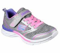 Skechers Dream N Dash Kid/'s Youth Adjustable Slip On Shoes
