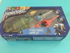 Thunderbirds Are Go Vivid Vehicles Super Set includes 4 Thunderbirds Vehicles
