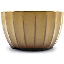 Bonsai Ceramic Pot Chrysanthemum Flower Shape Glazed (5, Ki-Yu) Garden &amp