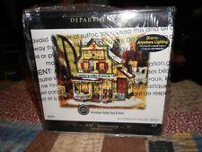 Dept 56 New England Village Christmas Valley Toys & Dolls Nib *Read*