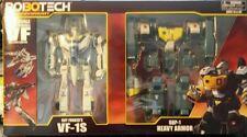 FIGURE VF1S ROBOTECH VERITECH FIGHTER HEAVY ARMOR GBP SKULL LEADER ROY FOKKER