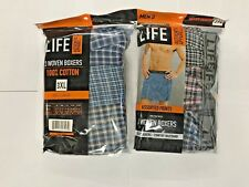 LIFE Authentic Apparel woven Boxers 6 pack