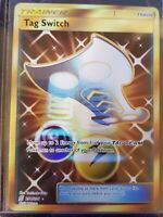 Tag Switch Pokemon Secret Rare Trainer Card, #254/236 Unified Minds