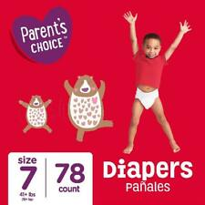 Parent's Choice Baby Diapers, Size 7, 78 Diapers