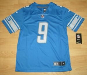 Nike Detroit Lions Matthew Stafford #9 Vapor Limited Home Jersey Youth Large