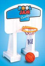 Swimline 9190 Inground Pool Jam 2 in 1 Basketball / Volleyball Game