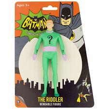 RIDDLER Bendable Posable batman Villain DC Comics toy Action figure BENDY NEW
