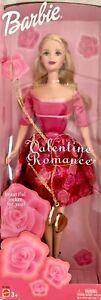 2003 VALENTINE ROMANCE Barbie with Locket NIB