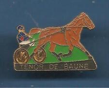 Pin's pin CHEVAL DE COURSE DE TROT TENOR DE BAUNE (ref 068)