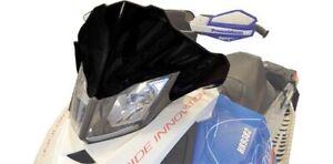 Cobra 12 Black Windshield Ski-Doo All Rev XP Chassis 2008-2014