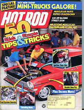 Hot Rod Magazine July 1988 Over 50 Slick & Simple Tips & Tricks EX 022316jhe