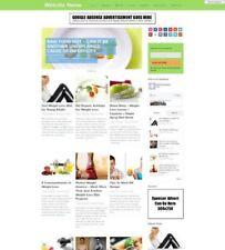 Tienda de dieta-negocio sitio web para la venta-afiliado sitio web Business + Amazon