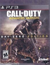 Call of Duty: Advanced Warfare Day Zero (Sony PS 3, 2014)  Factory Sealed