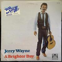 Jerry Wayne - A Brighter Day LP New Sealed AT-1053 Private IL Folk Xian 1981