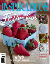 Inspirations embroidery magazine #96 NEW free shipping