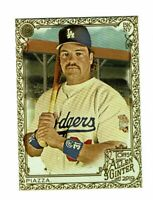 2019 Topps Allen & Ginter Gold #35 Mike Piazza Los Angeles Dodgers