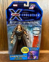 Sabretooth Vintage X-Men Evolution Cartoon Action Figure New 2001 Toybiz Marvel