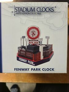 NEW IN THE BOX!  Boston Red Sox Fenway Park  Clock Forever Collectibles