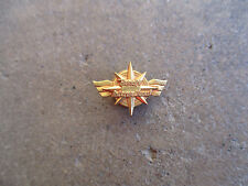 vintage Bendix International Aviation Aircraft wings employee award pin
