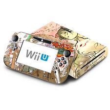 Skin Decal Cover for Nintendo Wii U Console & GamePad - Okamiden Wolf Dog
