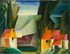 Hopfgarten  by Lyonel Feininger   Giclee Canvas Print Repro