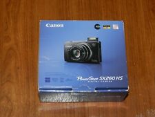 NEW in Open Box - Canon PowerShot SX260 HS 12.1 MP Camera - GREEN - 013803146479