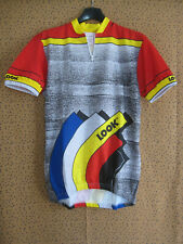 Maillot cycliste LOOK Made in France 80'S Team Sport Jersey Vintage - M