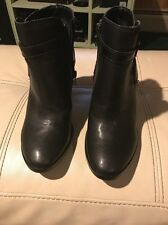 DV By Dolce Vita Prynce Women US 6 Black Ankle Boot Pre Owned  1381