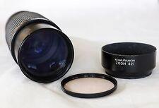Komuranon 821 Zoom Lens 1:45 f=80 210mm  Canon FD + Vivitar Skylight (1A)