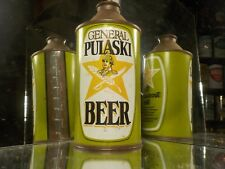 GENERAL PULASKI  CONE TOP BEER CAN