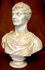 """16"""" Roman Art Bust of Caesar Statue Classical Greek Sculpture"""