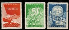1959 CHINA COMMUNIST MAY DAY LENIN MARX COMPLETE SET MINT NH SCOTT 413-15 SCV$37