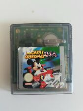 Gameboy Color MICKEY'S SPEEDWAY USA Nintendo