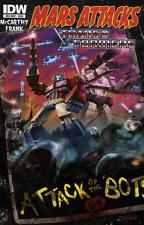 MARS ATTACKS: TRANSFORMERS ONE-SHOT (2013 Series) #1 Near Mint Comics Book