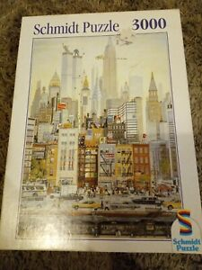 Schmidt New York 3000 Piece Jigsaw Puzzle