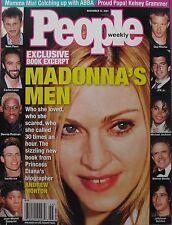 MADONNA'S MEN 2001 PEOPLE  SEAN PENN  JFK JR. GUY RITCHIE  MICHAEL JACKSON  +++