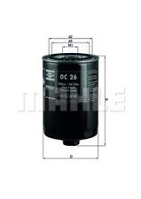 Ölfilter - Mahle OC 26