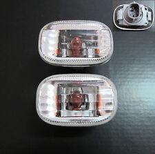 Toyota Celica Corolla MR2 RAV4 Hilux Camry Supra CLEAR Side Indicators Repeaters