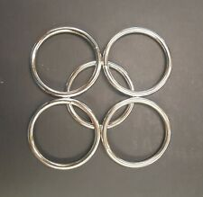 """3"""" Nickel Plated Heavy Duty O Rings - Quantity per Pack - 10"""