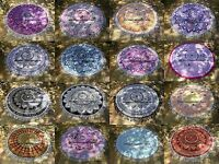 Indian Ombre Mandala Round Beach Throw Tapestry Hippie Wall Hanging Yoga Mat 72""