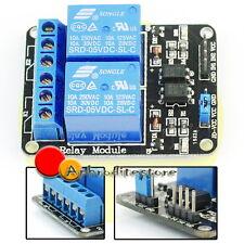 Modulo 5V Relay Relè a 2 Canali per Arduino PIC ARM AVR DSP 8051 TTL PLC ap7e