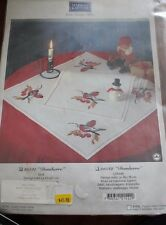 """Bird TableCloth """"Domherre""""  from Marks & Kattens."""