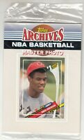 1992-93 Topps Archives Basketball Master Photo Pack DAVID ROBINSON On Top Sealed
