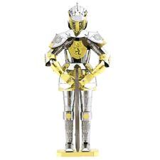 Fascinations Metal Earth European Knight Armor 3D Laser Cut Steel Model Kit