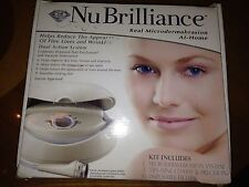 NU BRILLIANCE REAL MICRODERMABRASION SKIN CARE AT-HOME SYSTEM