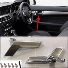 Mercedes W204 Manija De La Puerta Interior Cromado lado derecho Reino Unido Lado del conductor