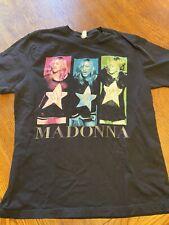 Madonna Mdna 2012 TOUR SHIRT SZ L