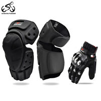 Motorcycle Knee Pads Motocross Downhill Sports Gloves MTB Protective Gear Sets